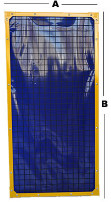 2x2 Panel showing dimensions