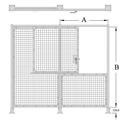 LH Top Slide Gate